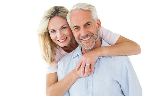 Middle Aged Couple | Davenport Dental Group | Laredo, TX
