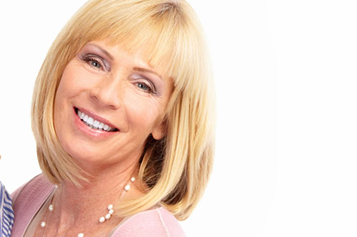 Golden Haired Lady | Davenport Dental Group | Laredo, TX